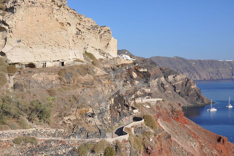 Successioni vulcaniche ed opere di difesa (Santorini, Grecia) - Giovanni Forte, Università di Napoli Federico II