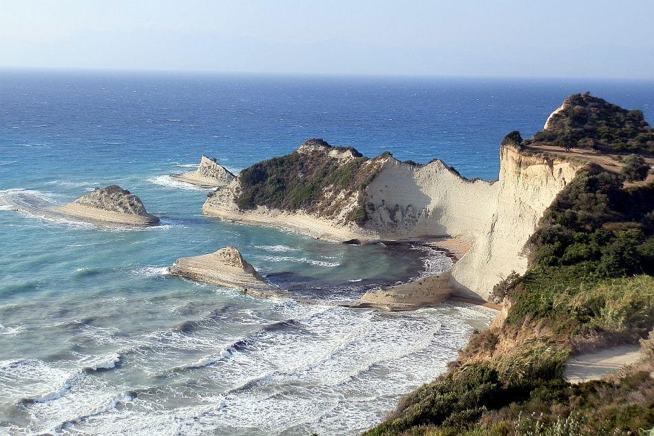 Erosione costiera a Capo Drastis (Corfù, Grecia) - Lucio Di Matteo, Università di Perugia