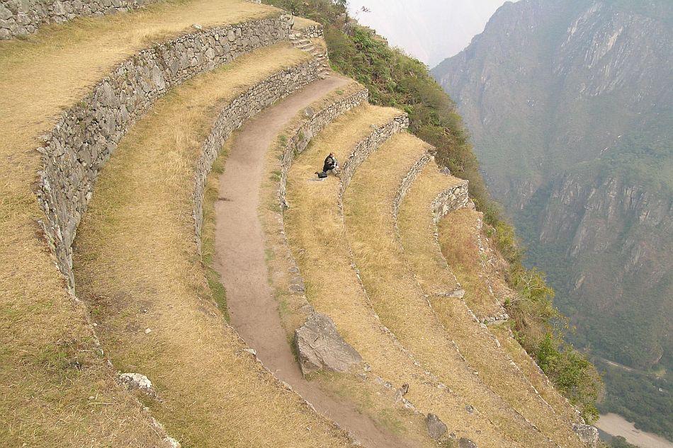 Terrazzamenti a Machu Picchu (Valle dell'Urubamba, Perù) - Diego Di Martire, Università di Napoli Federico II